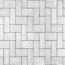 Белая тротуарная плитка